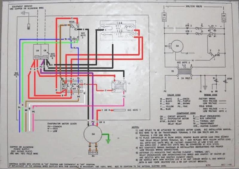 Wiring Diagram Goodman Gas Furnace. Wiring. Free Download Image