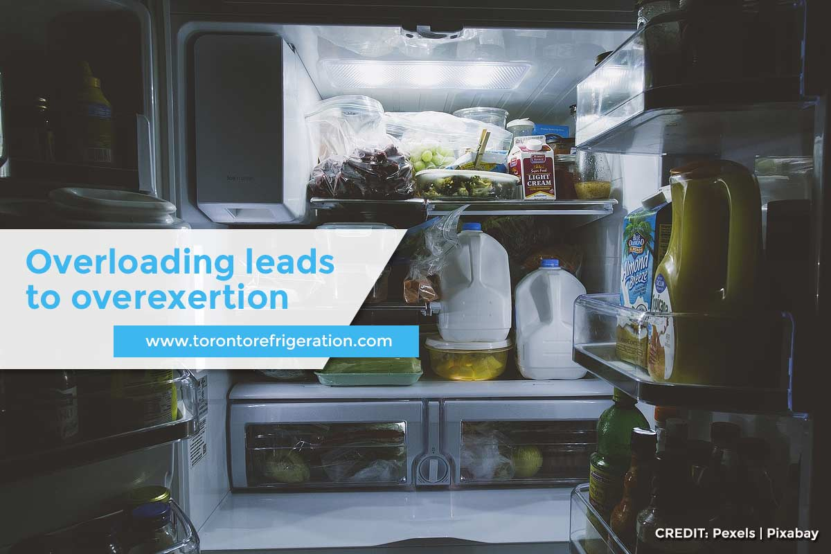 Overloading leads to overexertion