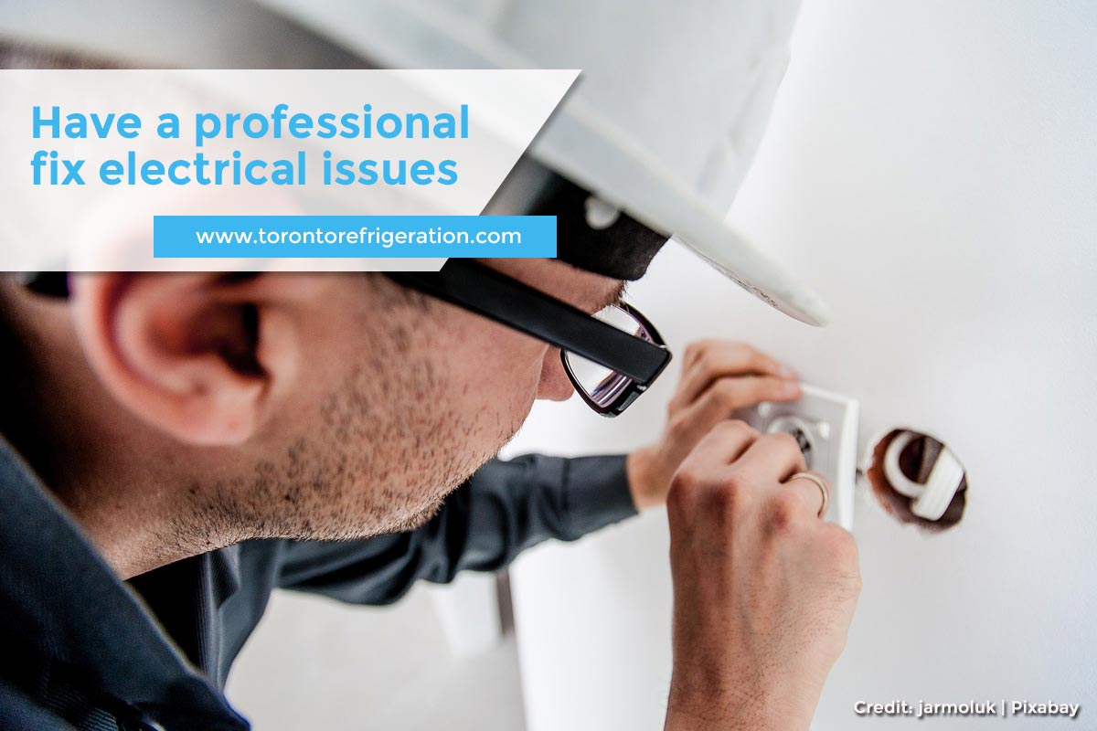 Have a professional fix electrical issues