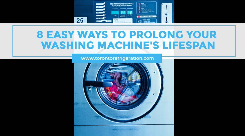 8 Easy Ways to Prolong Your Washing Machine's Lifespan